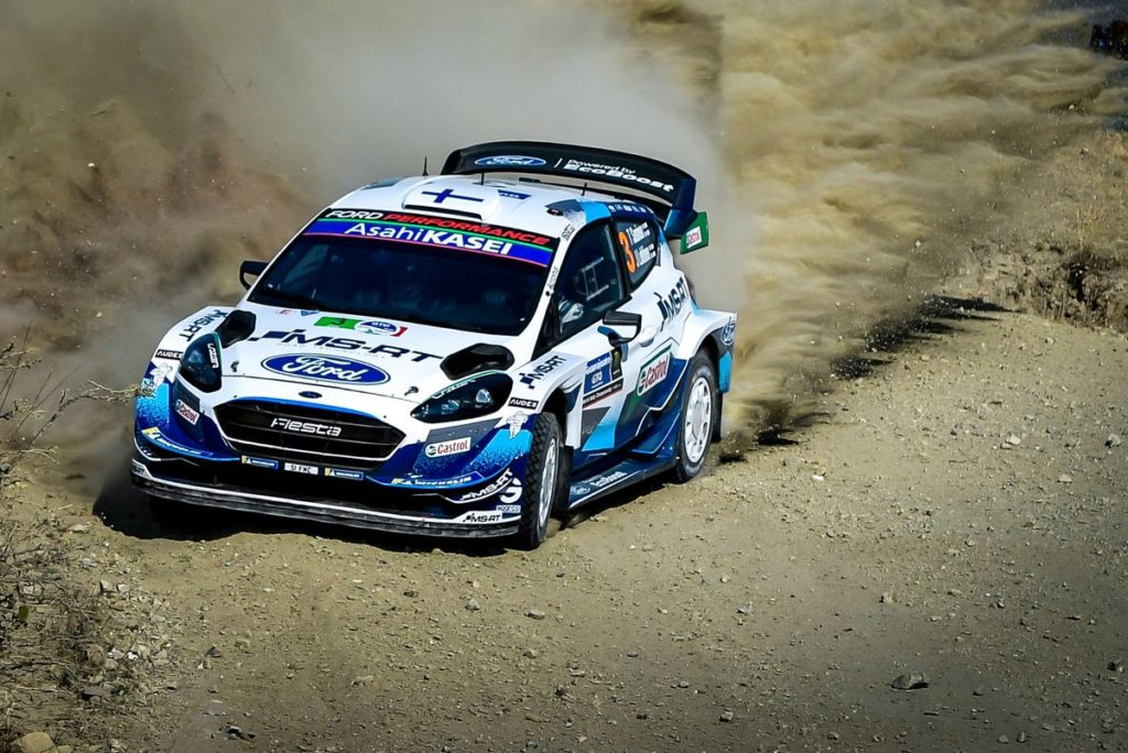 WRC - Suninen in the fight