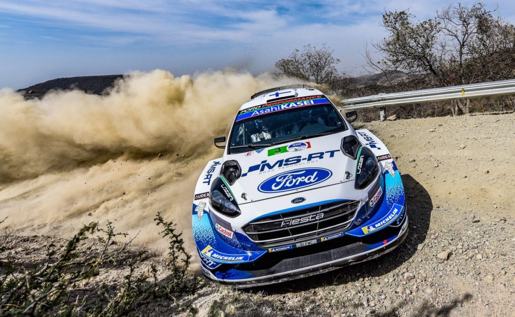 WRC - Suninen secures Mexico podium
