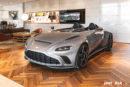 La V12 Speedster chez Aston Martin Geneva