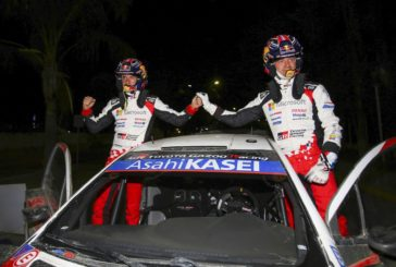 WRC – Ogier scores his first victory in the Toyota Yaris WRC