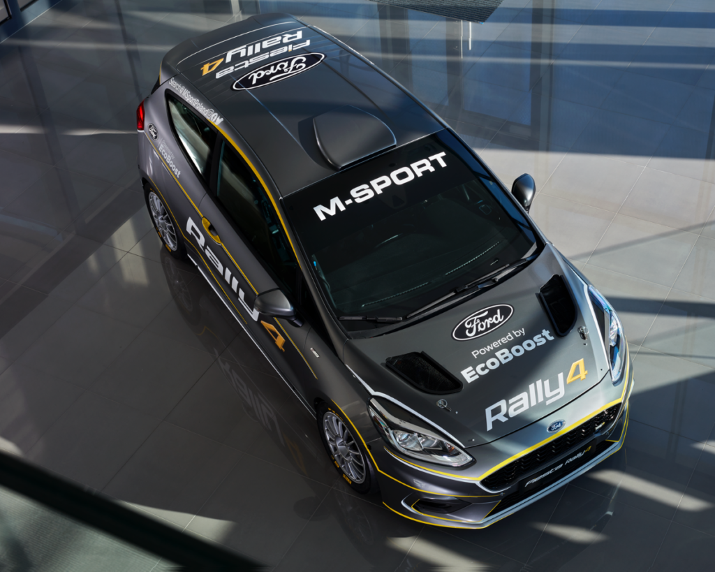 Introducing the new Ford Fiesta Rally4