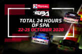 Total 24 Hours of Spa poised for unique autumn edition on 22-25 October
