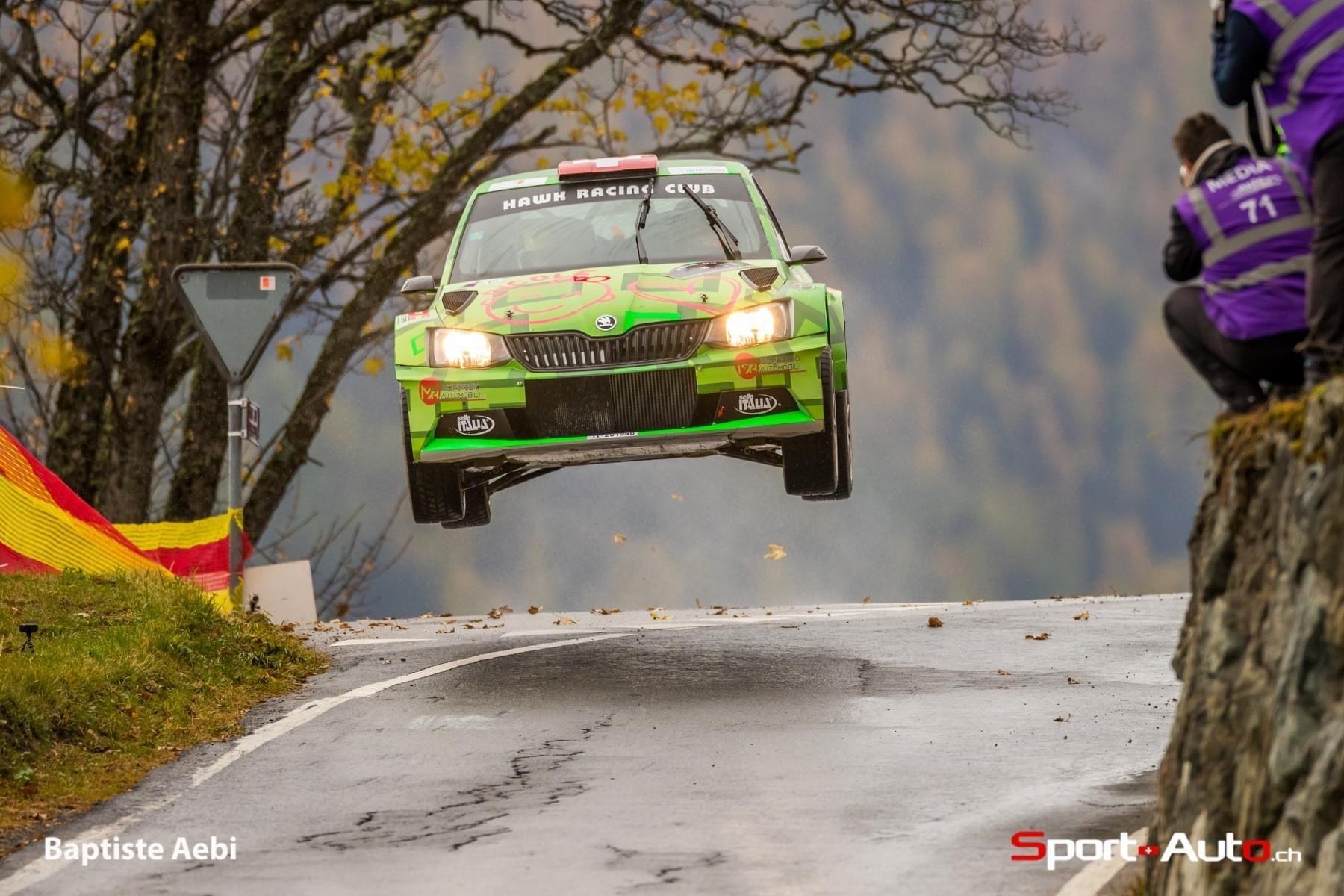 Le Rallye International du Valais toujours en lice pour le WRC