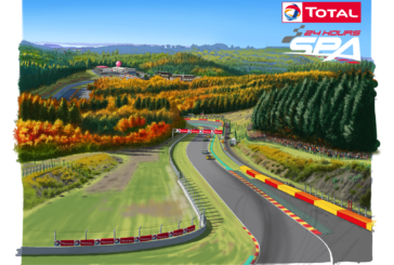 Once-in-a-lifetime 25-hour edition for the Total 24 Hours of Spa