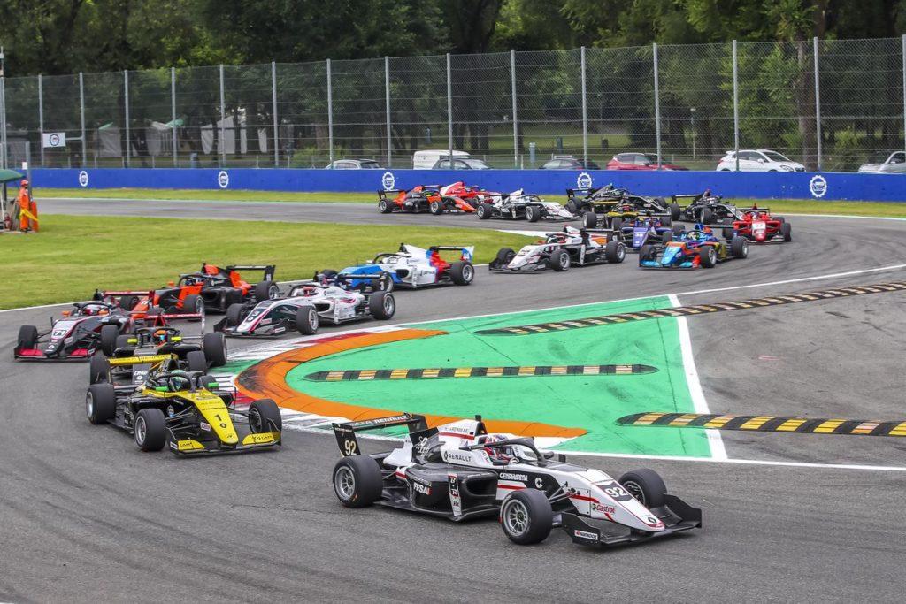 Eurocup Formula Renault - Première pour Caio Collet, Grégoire Saucy dans les points