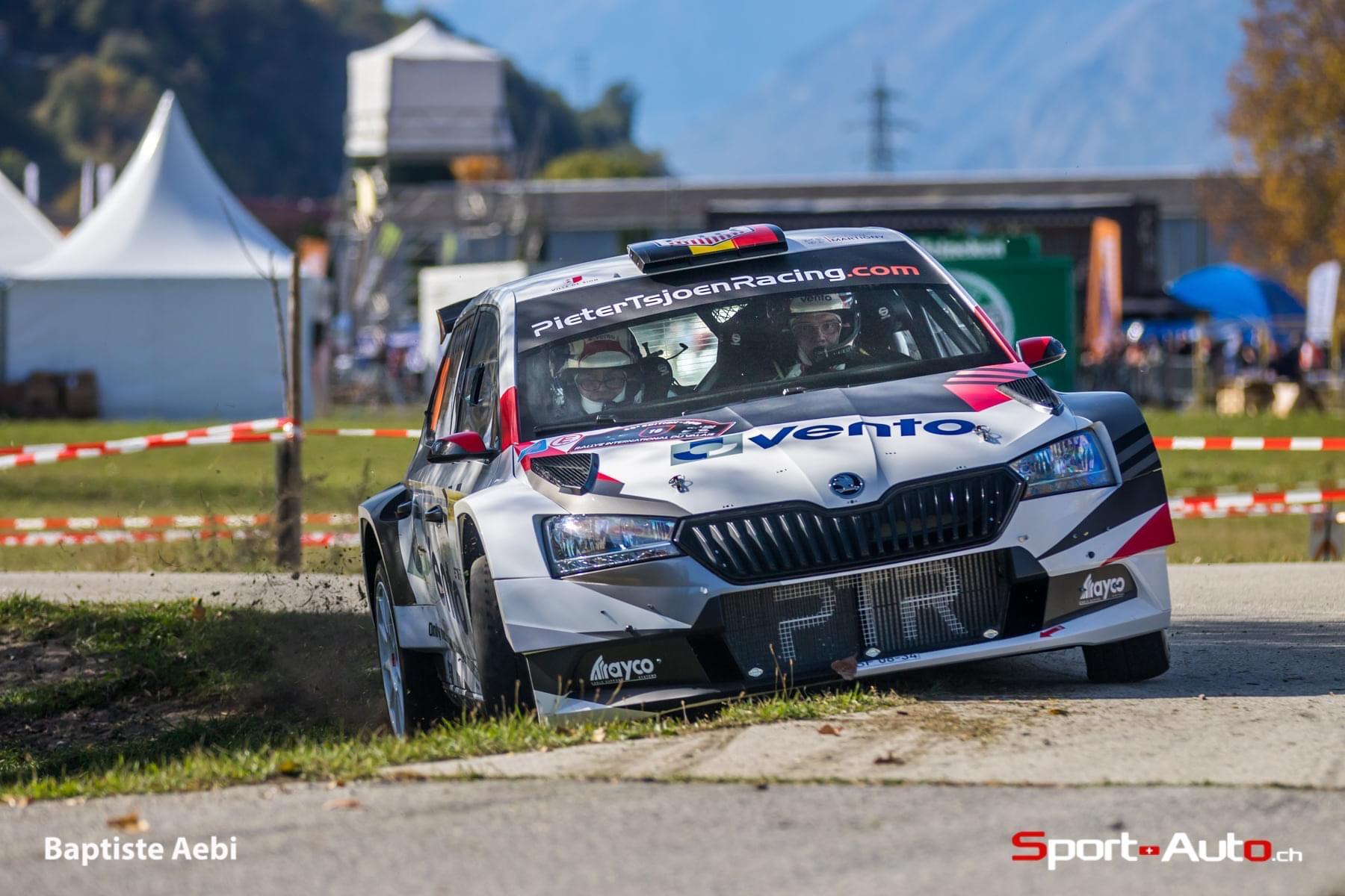Une première pointure Européenne inscrite au Rallye International du Valais