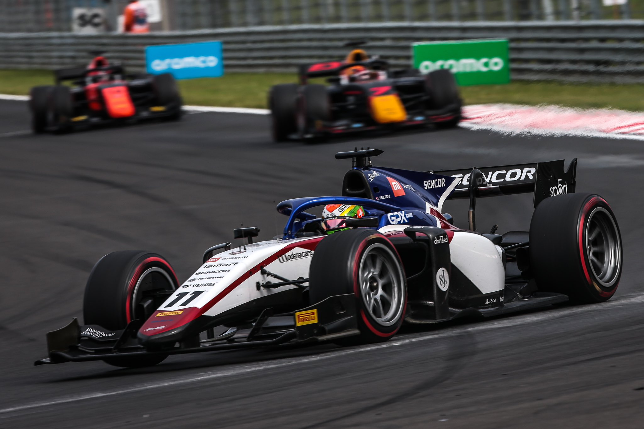 FIA F2 – GP de Hongrie: Des points et une grosse occasion manquée pour Louis Delétraz