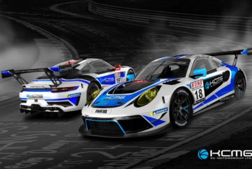 KCMG begins road to Nürburgring 24 Hours with Porsche at NLS 2&3