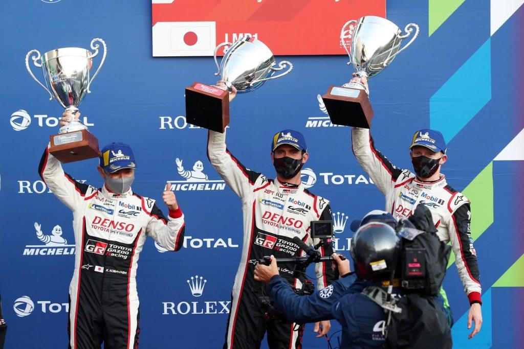 WEC : doublé de Toyota aux 6 Heures de Spa, Buemi 2e