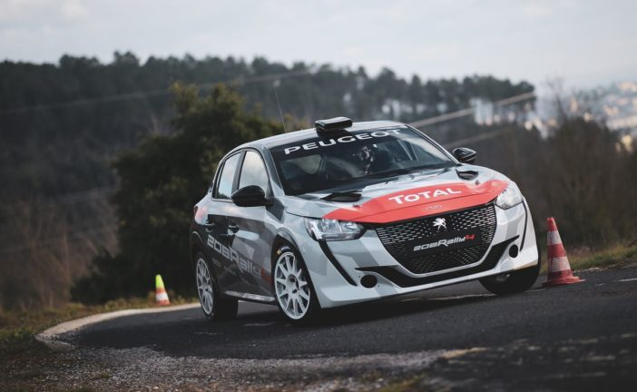 The 208 Rally Cup kick off at Mont-Blanc with the new 208 Rally 4 !