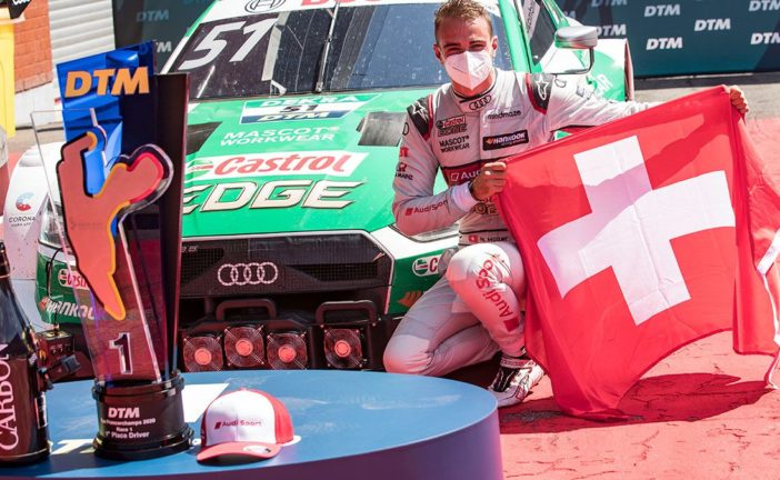 A Swiss victory on the Swiss national day: Nico Müller wins DTM season opener at Spa