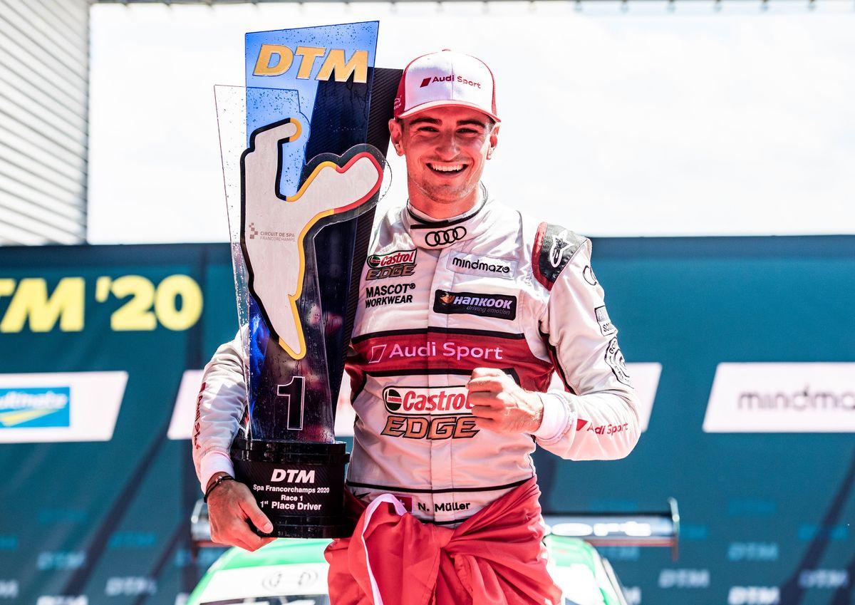 DTM – Nico Müller offre une victoire à la Suisse en ce 1er août