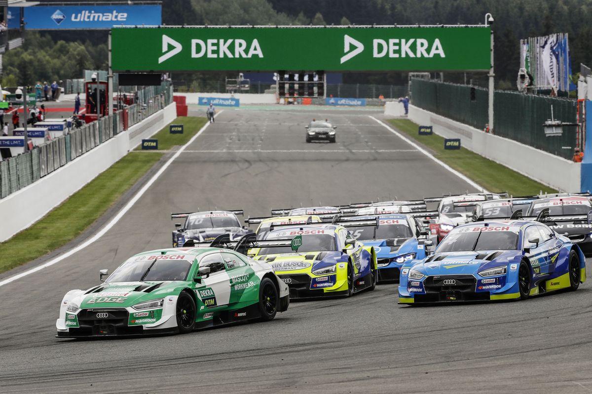 DTM – Nico Müller récupère la victoire de la deuxième course