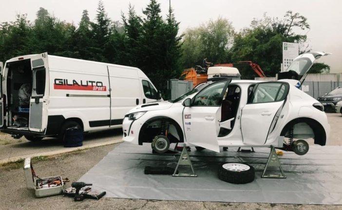 Entretien avec Aurélien Devanthéry qui s'attaque à la 208 Rally Cup
