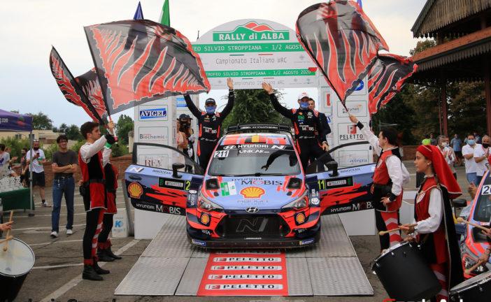 Rally Di Alba – Les Hyundai dominent l'épreuve, Top 20 pour Kim Daldini