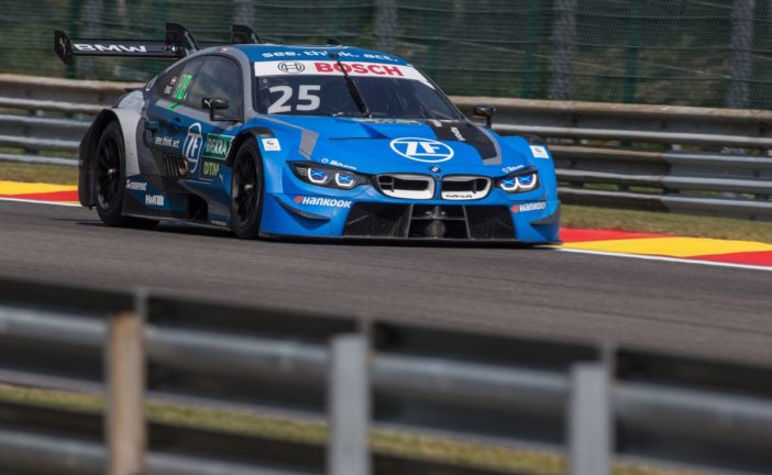 Tough start for BMW DTM teams at Spa-Francorchamps.