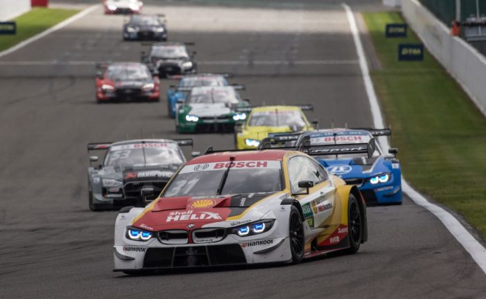 Four BMW M4 DTMs in the points on Sunday at Spa-Francorchamps
