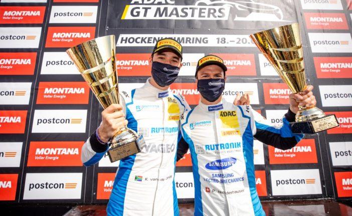 ADAC GT Masters – Patric Niederhauser et Kelvin Van der Linde retrouvent la tête du championnat