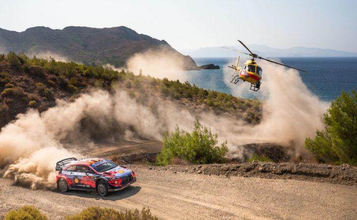 Hyundai erringt zwei Podiumsplätze bei der Rallye Türkei
