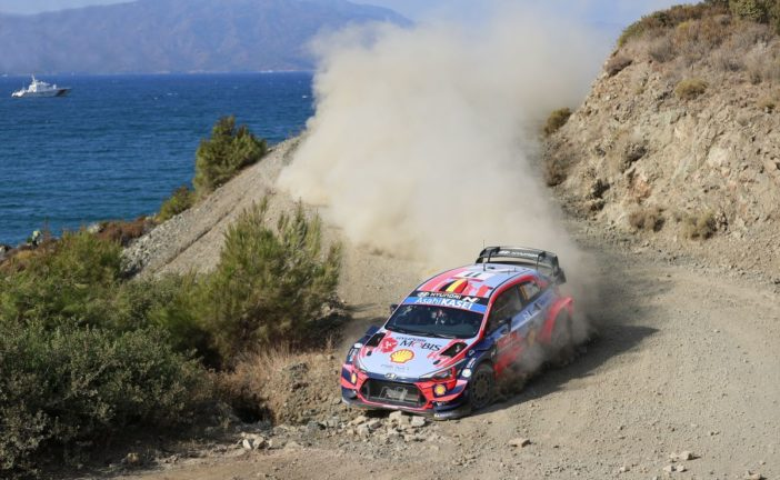 WRC – Hyundai Motorsport will begin the final day of Rally Turkey