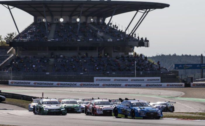 Nerve-wrecking: Robin Frijns wins DTM thriller at the Nürburgring