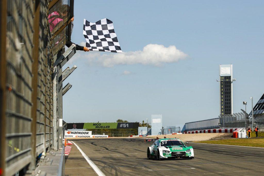 DTM – Nico Müller dominateur au Nürburgring