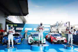 Title in a rush: Audi early manufacturers' champion in the DTM
