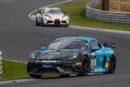 GT4 European Series – Week-end difficile pour les Tessinois, double victoire pour la Porsche Allied Racing