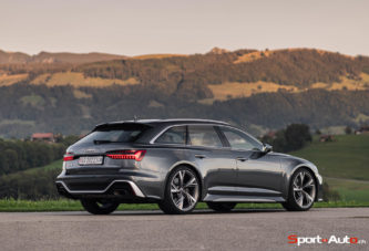 Essai – Audi RS6 Avant C8