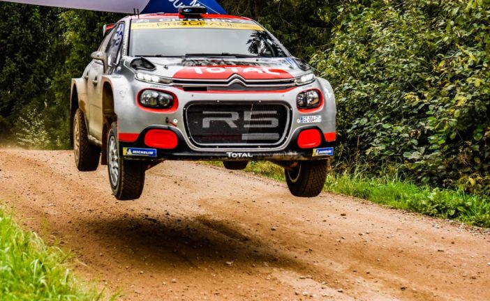 The C3 R5 takes WRC2 class win in Estonia wist Østberg and overall victory at Mont-Blan with Bonato