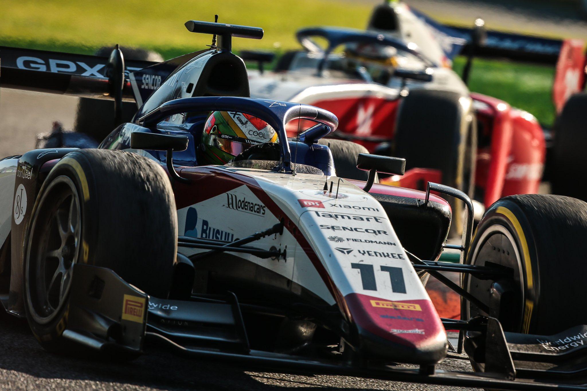 FIA F2 – GP d'Italie: Louis Delétraz termine encore au pied du podium. Victoire de Mick Schumacher