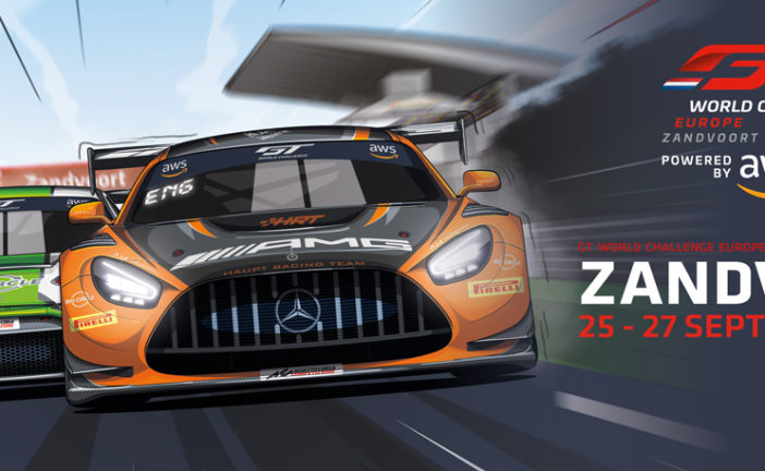 GT World Challenge Europe Powered by AWS season moves into crucial phase as Sprint Cup battle heads to Zandvoort