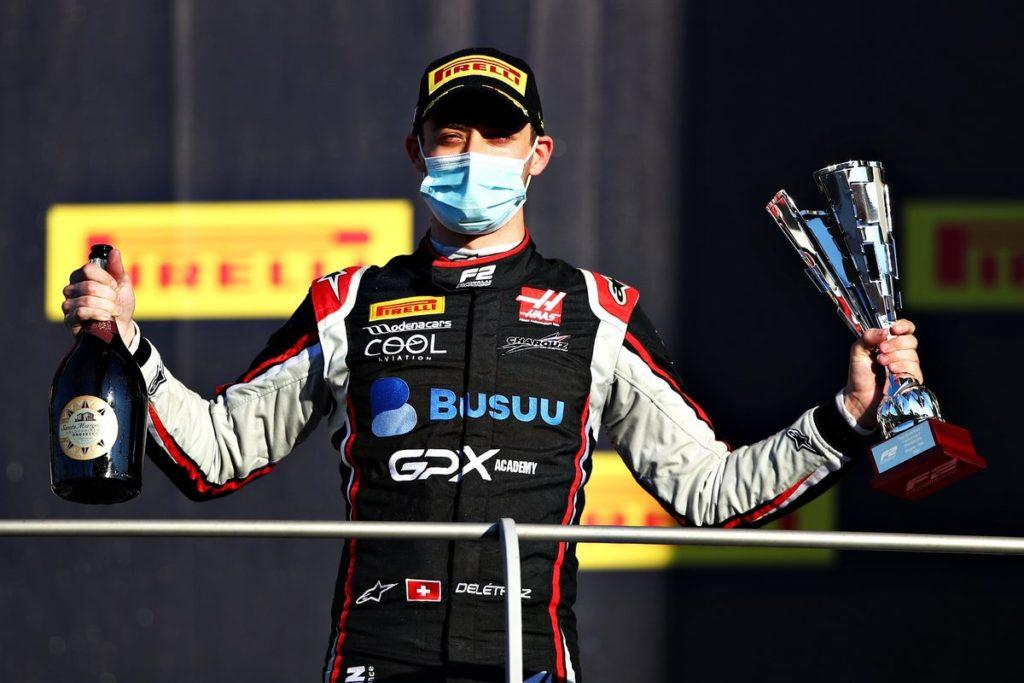 Formule 2 – Double podium pour Louis Delétraz en Toscane