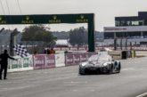 Porsche-Kundenteam Dempsey-Proton Racing in Le Mans auf dem Podest