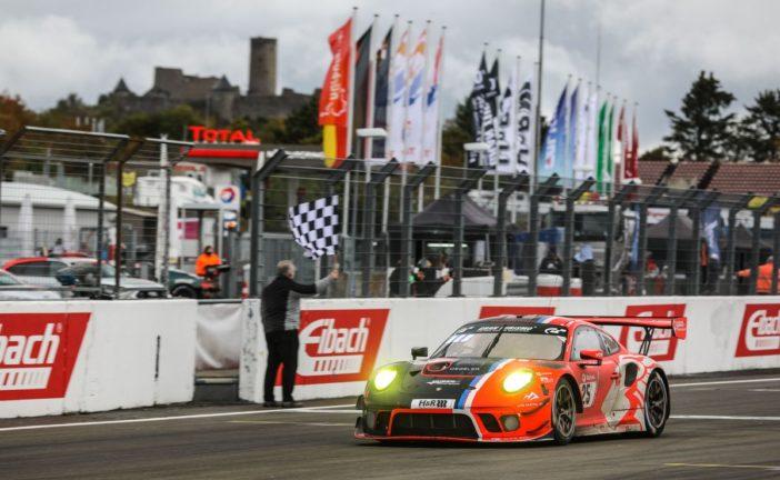Two Porsche in the top ten at a difficult Eifel classic