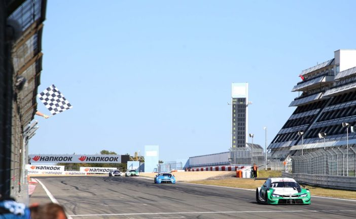 Podium finish at the Nürburgring: Marco Wittmann completes Saturday's race in third place.