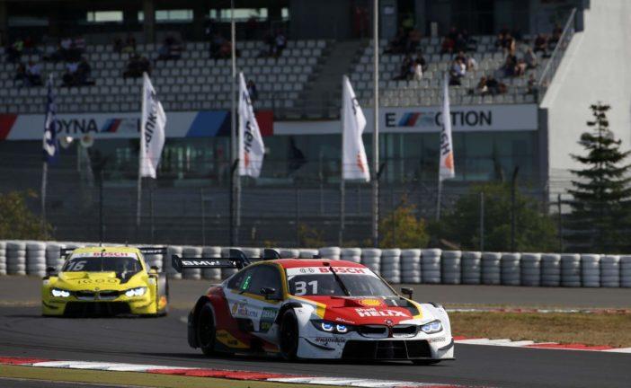 Sheldon van der Linde best-placed BMW driver in fourth place at Sunday's Nürburgring race.