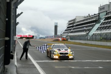 BMW claims 20th overall victory at the Nürburgring 24 Hours – Nick Catsburg, Alexander Sims and Nick Yelloly triumph in the ROWE Racing BMW M6 GT3.