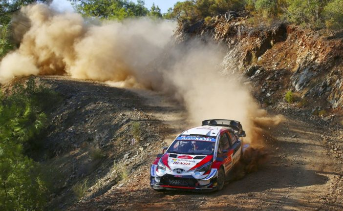 Toyota Yaris WRC drivers well-placed after opening Turkish tests