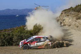 WRC –  Ogier tied for second place for Toyota Gazoo Racing