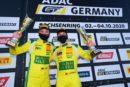 ADAC GT4 – Une nouvelle victoire et un podium propulsent Julien Apotheloz en tête du championnat