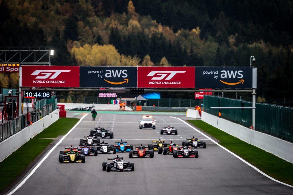 Formula Renault Eurocup - Grégoire Saucy sur le podium de Spa