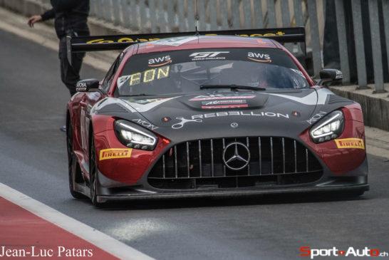 Mercedes-AMG mit Top-Ten-Ergebnis in der Gesamtwertung und Doppelsieg im Silver Cup