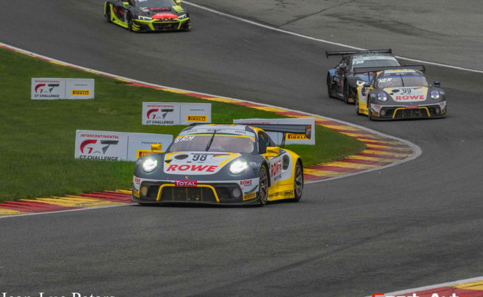 Great Porsche success at Spa: Victory and four 911 GT3 R in the top ten