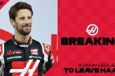 F1 – 2021: Romain Grosjean quitte Haas F1. Fin de parcours en Formule 1 ?