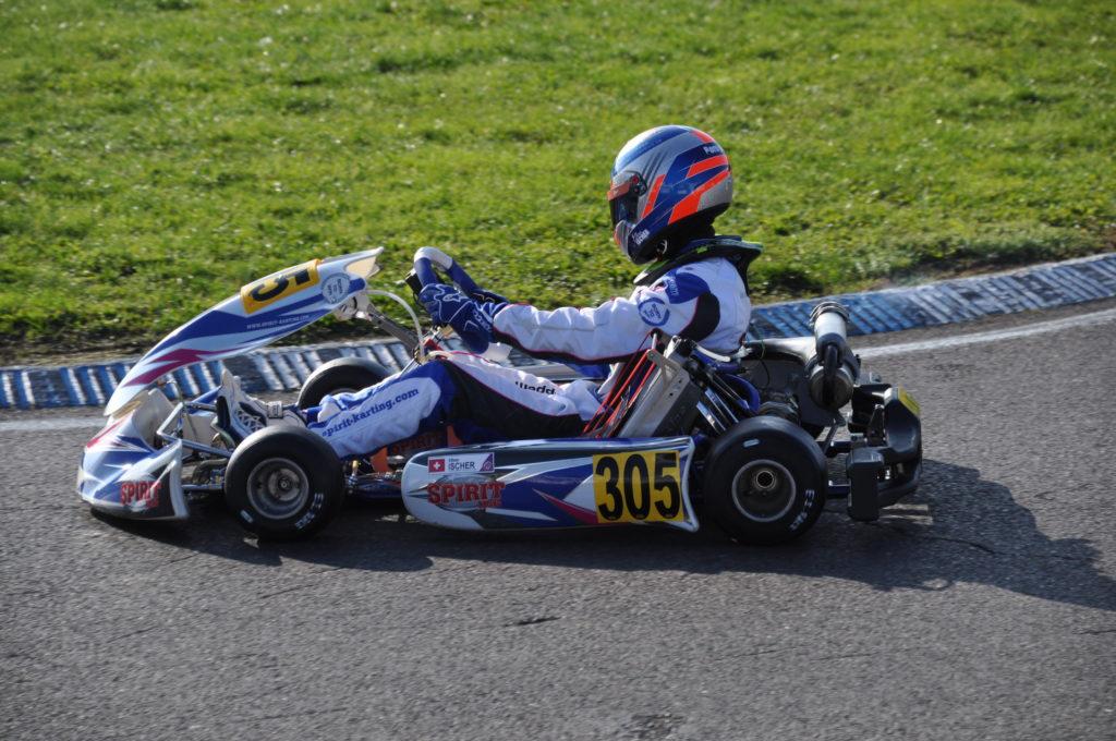 Karting: l'éclosion d'un champion