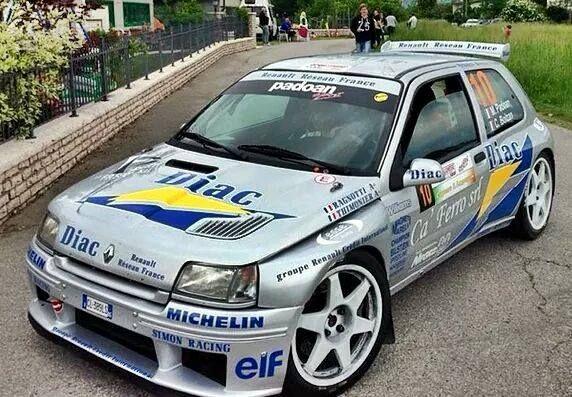 Cédric Betschen à la découverte de la Clio Maxi Kit Car