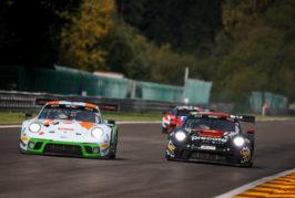 Elf Porsche beim Höhepunkt der GT3-Saison in Spa-Francorchamps