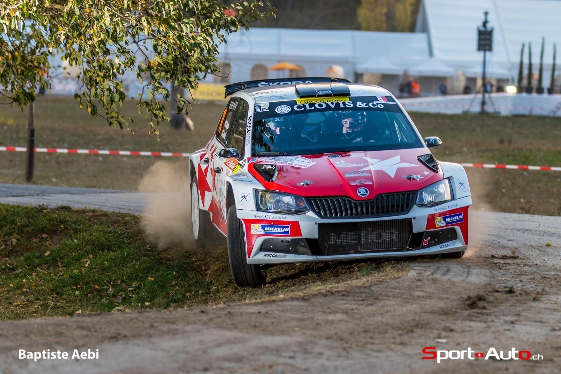 Mike Coppens et Joel Rappaz participeront au Rallye des Monts Dôme 2020