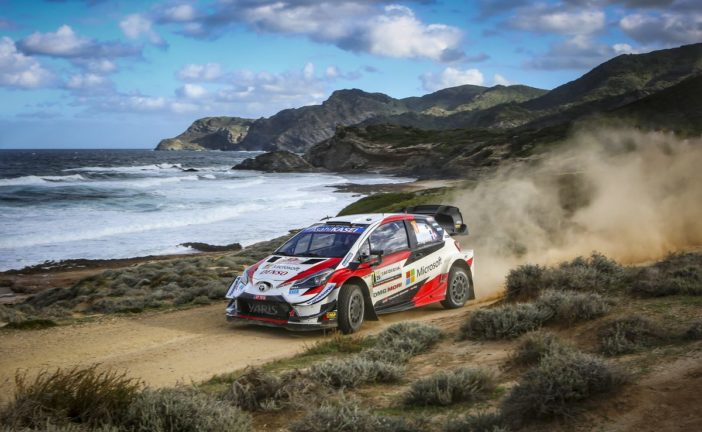 Ogier on the podium, Evans remains championship leader for Toyota Gazoo Racing